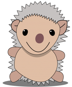 Hepyli, the hedgehog
